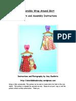 Sewing Pattern_Wrap Around Skirt