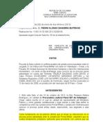 Colision de Competencia Consejo Superior 2012 02408