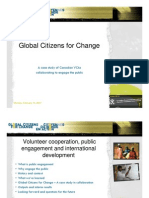 IVCO 2006 Global Citizens for Change