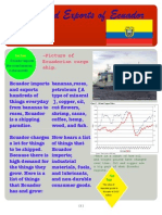 imports and exports of ecuador - jp