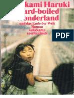 Hard Boiled Wonderland _ Science Fiction