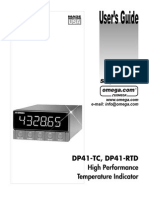 Omega DP-41 User's Guide