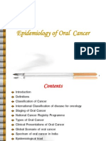 Epi of Oral Cancer