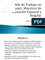 Estrategias para Trabajar en Equipo Maestros de Educación (SSG-01)