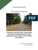 PROJETO SÃO GONÇALO_Relatorio