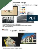 Apresentação Bauhaus 20 Março 2012 V3