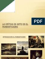 La Crítica de arte en el romanticismo
