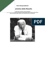 Hans Georg Gadamer Il Cammino Della Filosofia