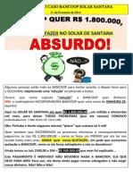 Informativo Caso Bancoop Solar Santana