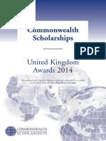 Prospectus Scholarships 2014