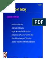 05 Dislocation Theory