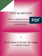 Test Dei Riflessi