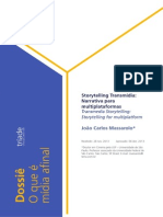 Narrativa Transmidia Narrativa Para Multiplataformas (2014)