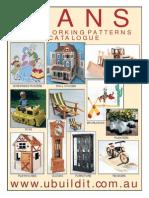 WOODCRAFT PLANS  - catalogue