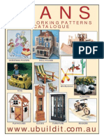 WOODCRAFT PLANS  - catalogue