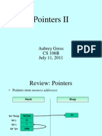 12 - Pointers II