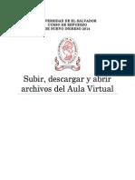 Guia Para Subir, Descargar y Abrir Archivos Del Aula Virtual