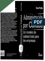 Administración por Calidad - Un modelo de Calidad Total para las empresas