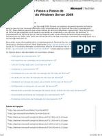 00 Guia de Instalação Passo a Passo de Licenciamento TS do Windows Server 2008