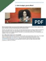 Dtg.nl-zes Social Media Tips Klein Budget Groot Effect