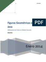 Figuras Geométricas en Java por Consola
