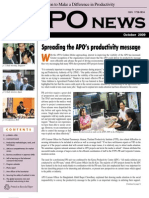 APO News October 2009 Issue