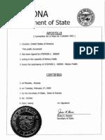 AZ Senator Letter 1985 (1)