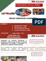 Microfinanzas en El Peru