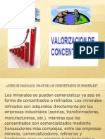 Clase8.-Valorizacion de Concentrados
