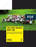 Amnesty International - The State Decides Who i Am