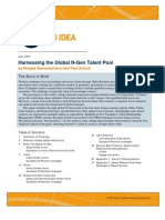 Harnessing the Global N-Gen Talent Pool