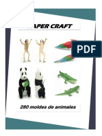 Paper Craft 280 Moldes