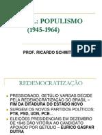 Brasil. Populismo