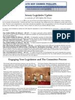 Phillips Feb Legislative Update ENL