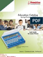 Franklin Educational Catalog