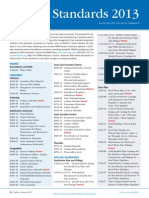 AWWA List of Standard