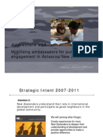 Addventure VSA Mobilising Ambassadors for Public Engagement in Aotearoa/New Zealand