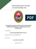 Análisis de losas de cimentación utilizando el modelo de Winkler y el modelo de Vlasov Modificado