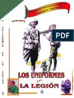 Uniformes en la Legión