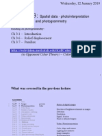 Class_3 1-12-11 Photointerpretation