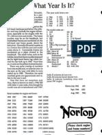 Engine Frame Numbers