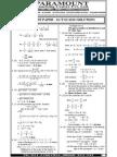 Ssc Mains (Maths) Mock Test-10 (Solution)