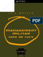 (Preview) 978-606-599-812-4 Ilie Gorjan - Management Militar
