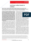 Three-Dimensional Tissue Culture Based On