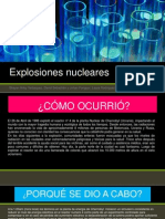 Explosiones Nucleares (Chernobyl)