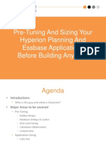Pre-Tuning and Sizing Your Hyperion Planning and Essbase Applications Before Building Anything