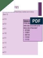 binary to denary