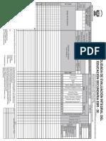 Acta Evaluacion Secundaria 2010-1