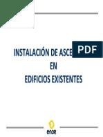 MAnual Instalacion Ascensor