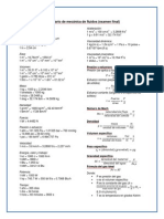 Formulario final de mecánica de fluidos